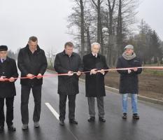 Otwarcie drogi w miejscowości Osieczna_8