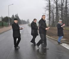 Otwarcie drogi w miejscowości Osieczna_4