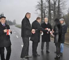Otwarcie drogi w miejscowości Osieczna_5